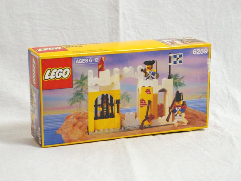 #6259 レゴ とりでの牢屋