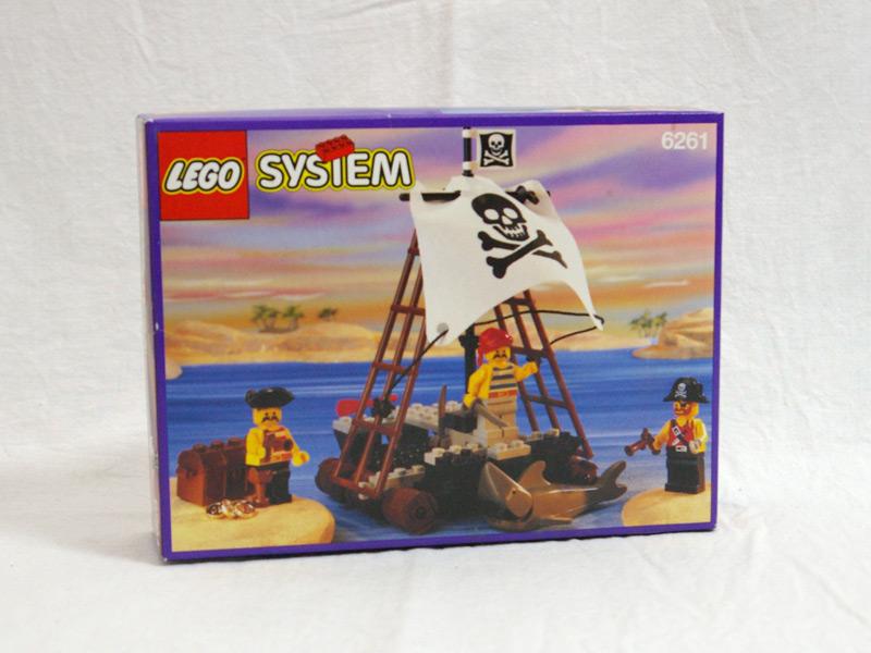 #6261 レゴ 海賊のいかだ
