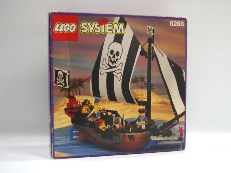 #6268 レゴ シースター号(アイアンフック船長の船)
