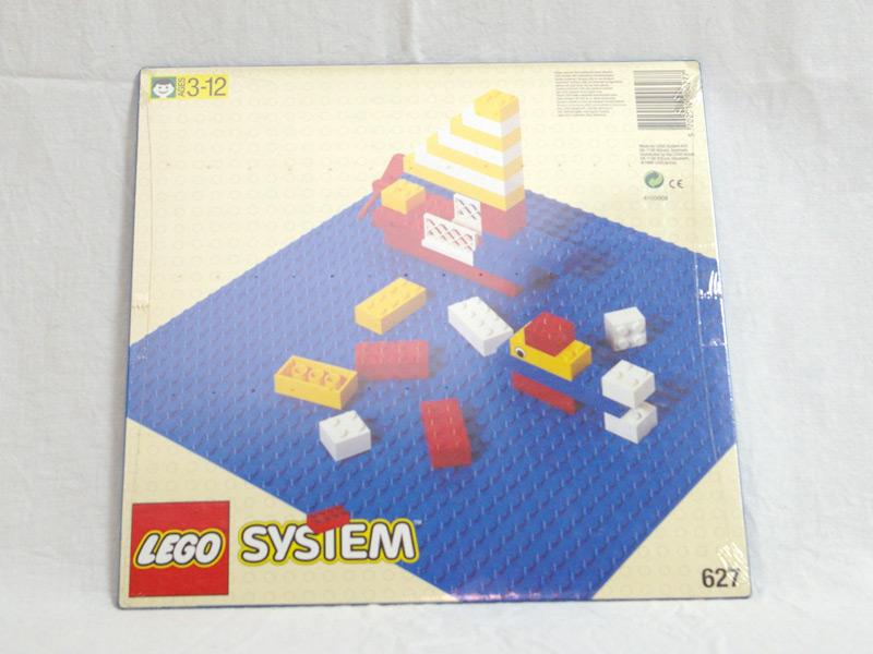 #627 レゴ 基礎板(青)
