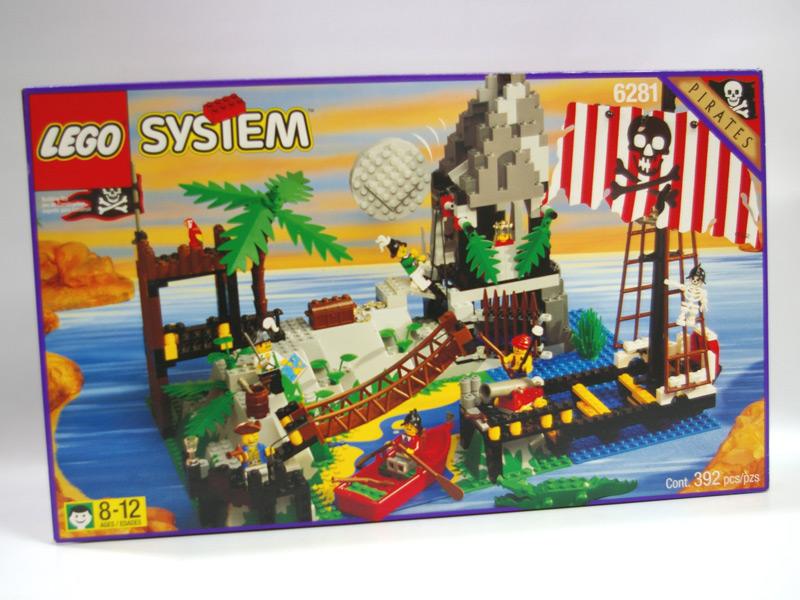 #6281 レゴ 海賊の危険なワナ
