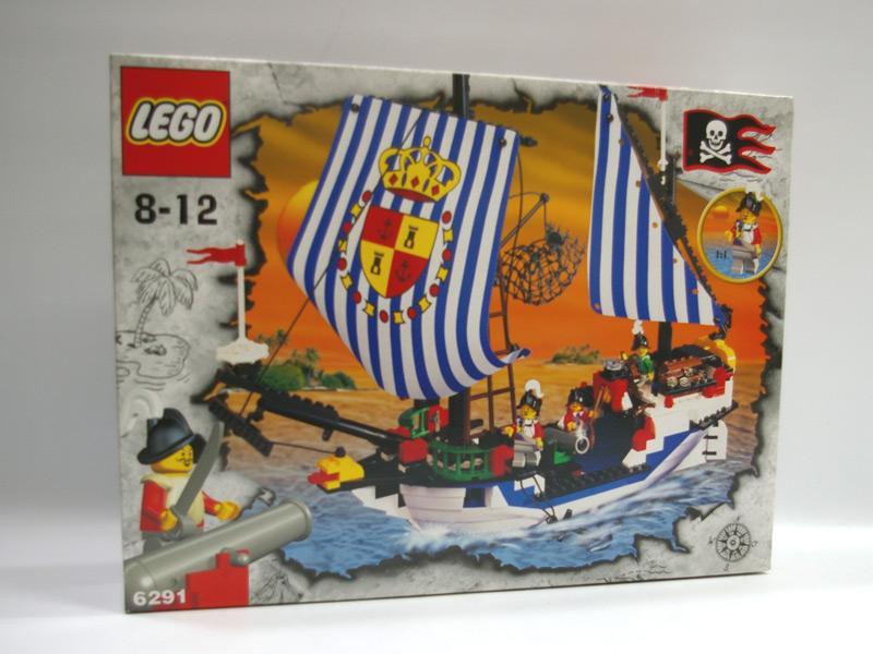 #6291 レゴ サンタクルス号(エスコーラの船)