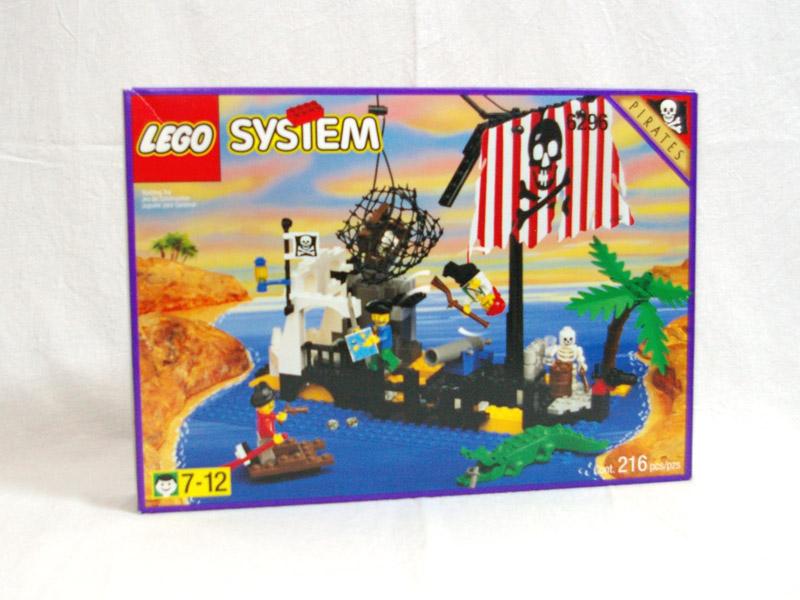 #6296 レゴ 難破船の島