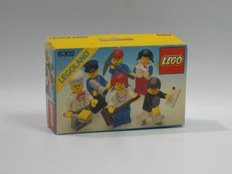 #6302 レゴ 人形セット