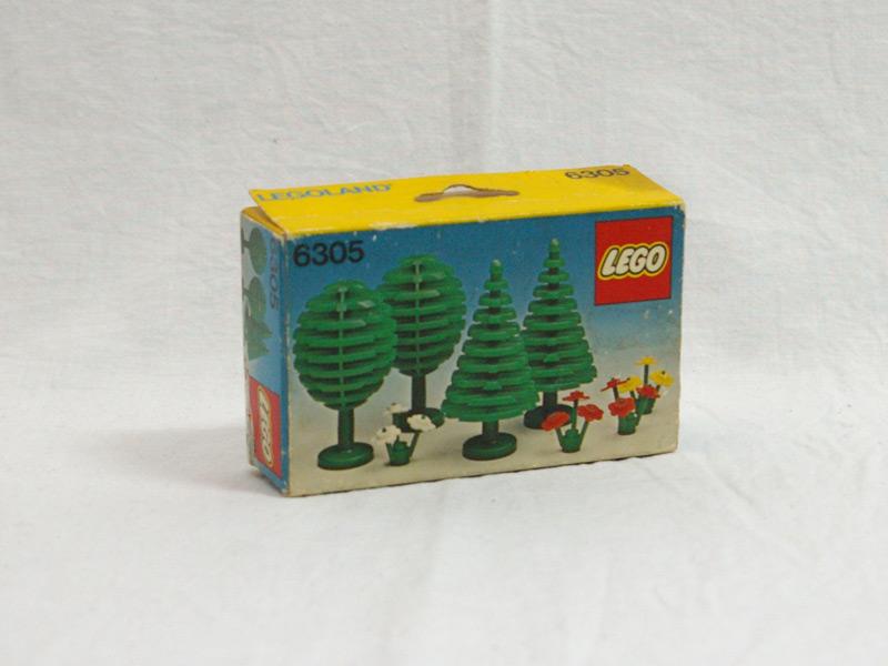 #6305 レゴ 木と花