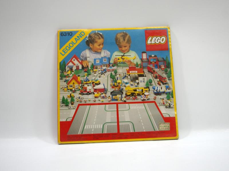 #6310 レゴ ロードプレート T字路