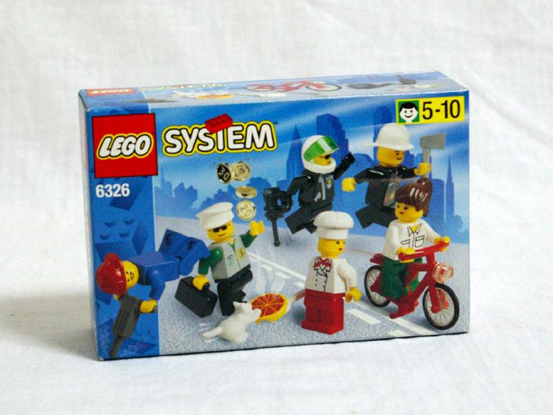 #6326 レゴ 人形セット