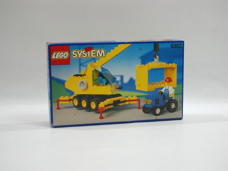 #6352 レゴ クレーン車