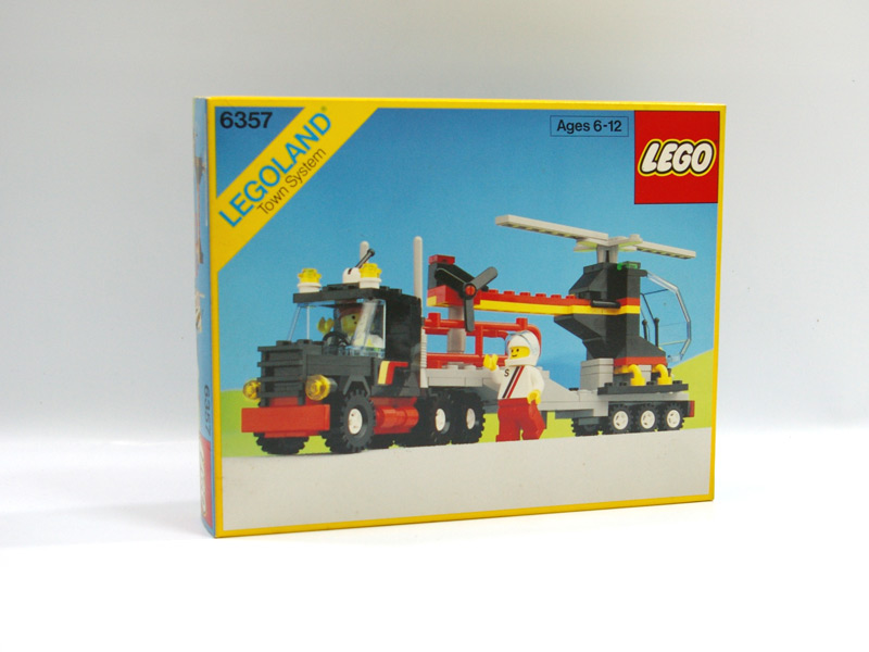 #6357 レゴ ヘリコプタートレーラー