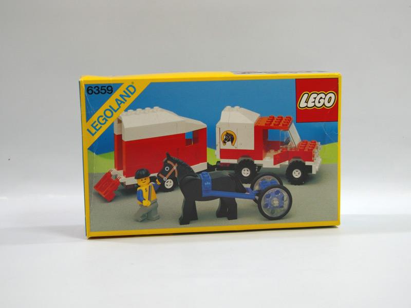 #6359 レゴ ホーストレイラー