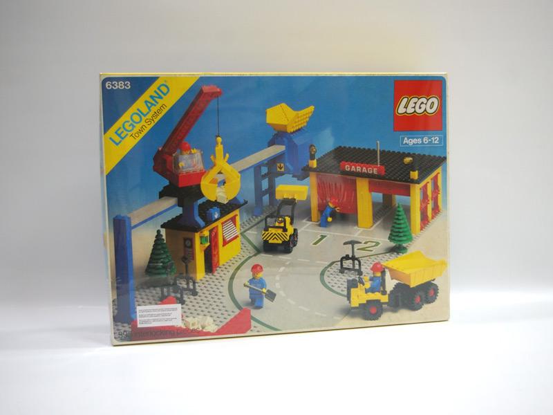 #6383 レゴ 工事現場