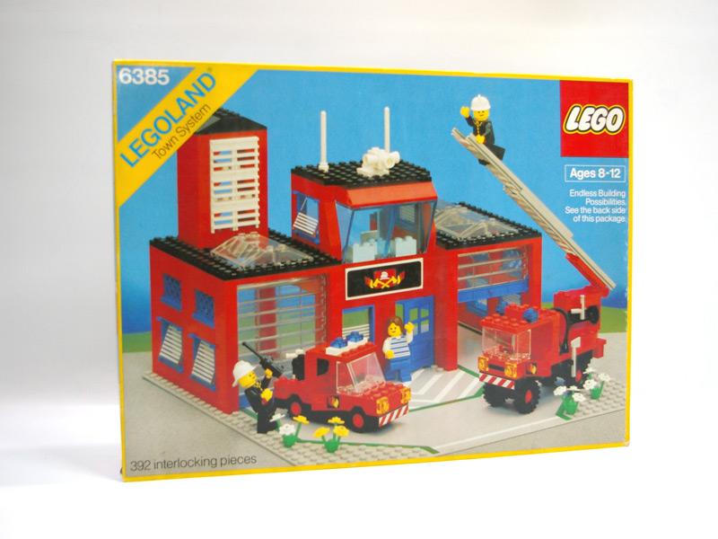 #6385 レゴ 新消防署