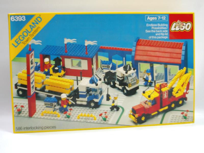 #6393 レゴ トラック・ステーション