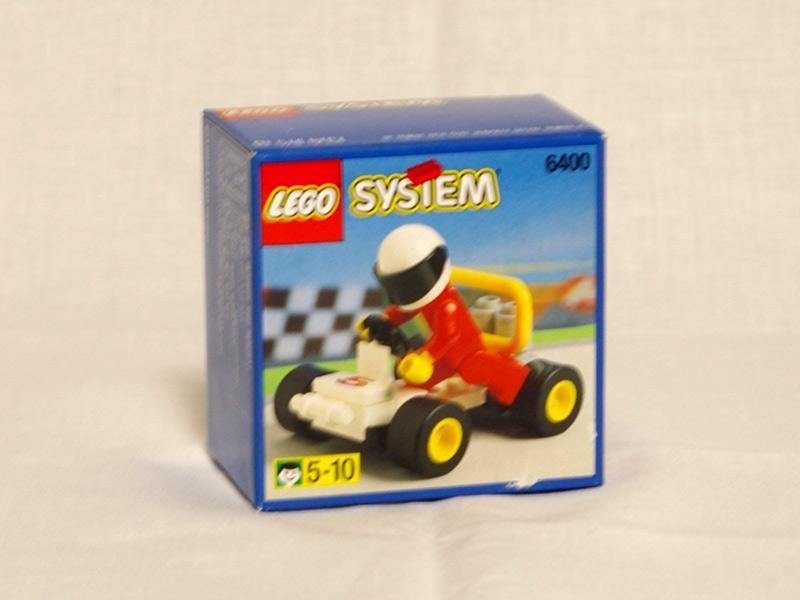 #6400 レゴ ゴーカート