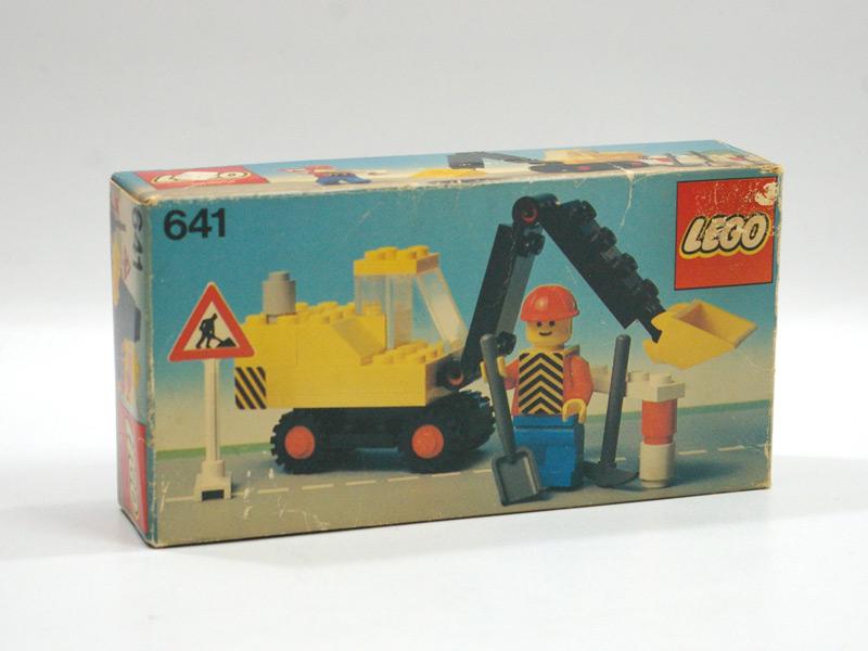 #641 レゴ ショベルカー