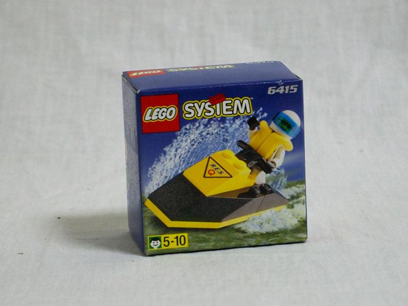 #6415 レゴ レスキュージェットスキー