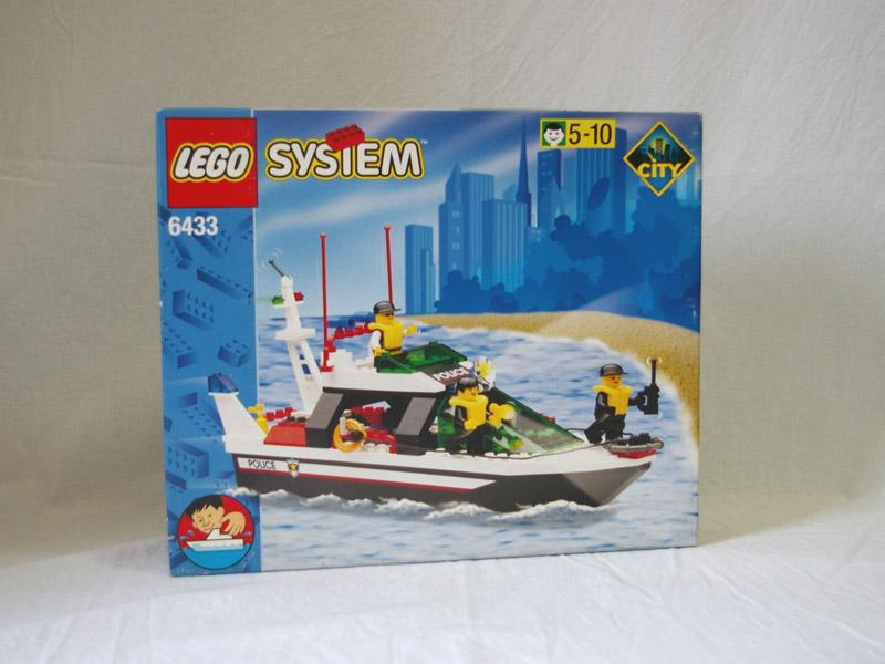 #6433 レゴ ポリスボート