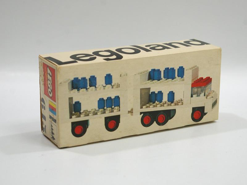 #645 レゴ レゴランド・ミルク・トレーラー