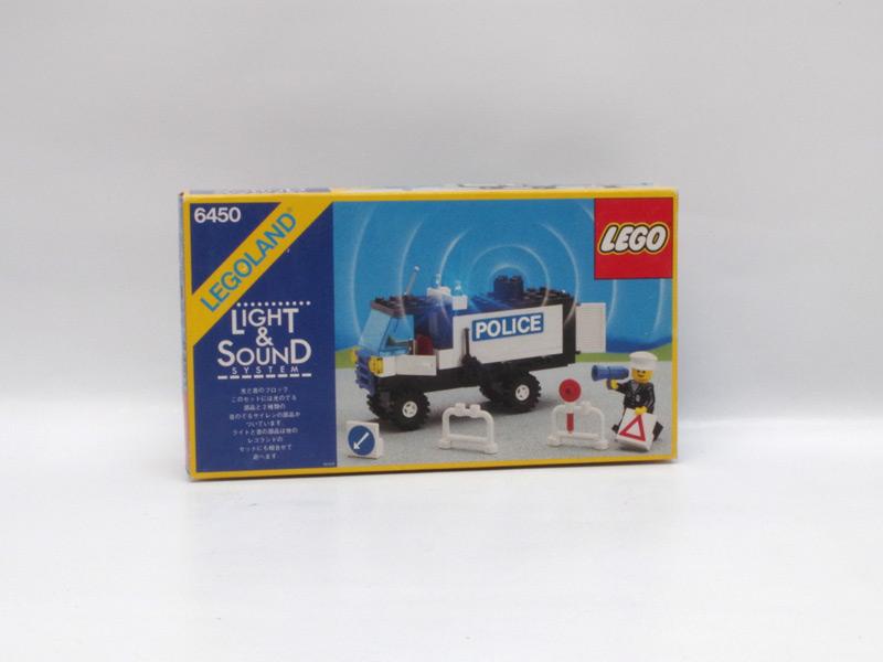 #6450 レゴ ポリスカー