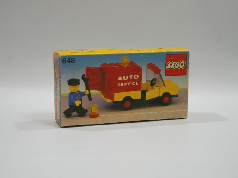 #646 レゴ オートサービストラック