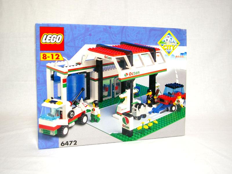#6472 レゴ ガソリンスタンド