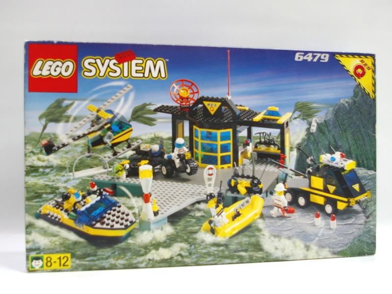 #6479 レゴ レスキューベース