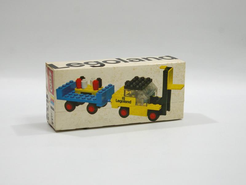 #652 レゴ レゴランドフォークリフトとトレーラー