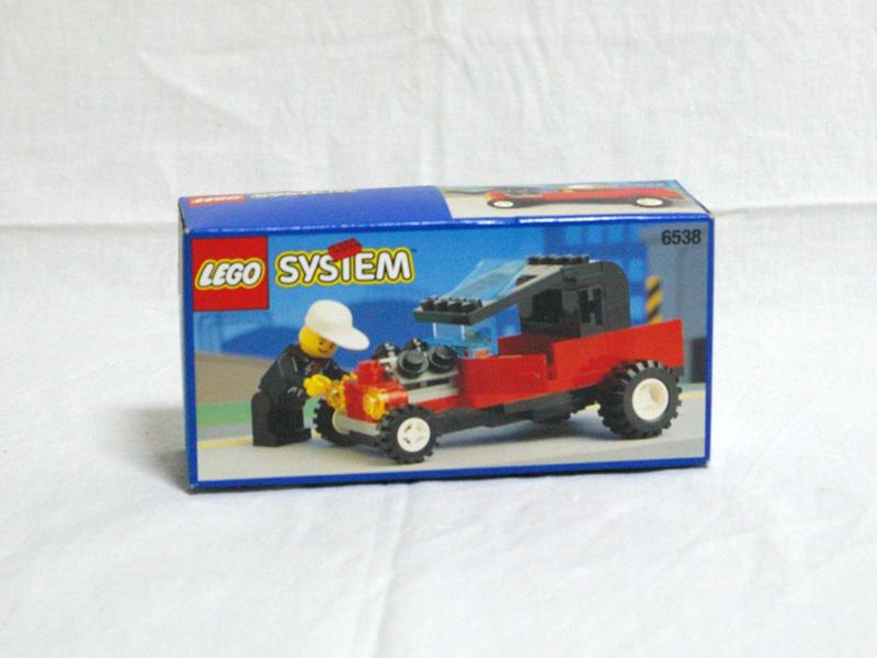 #6538 レゴ ホットロッドカー