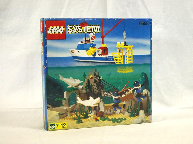 #6558 レゴ シャークハンター/船