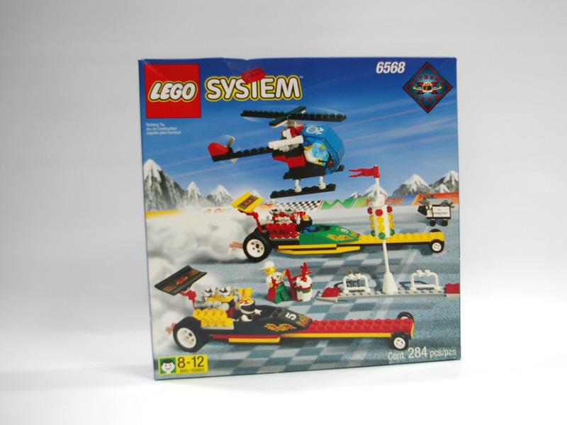 #6568 レゴ ドラッグレース
