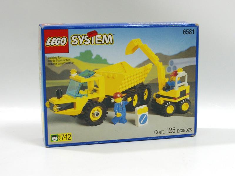 #6581 レゴ 工事車両セット