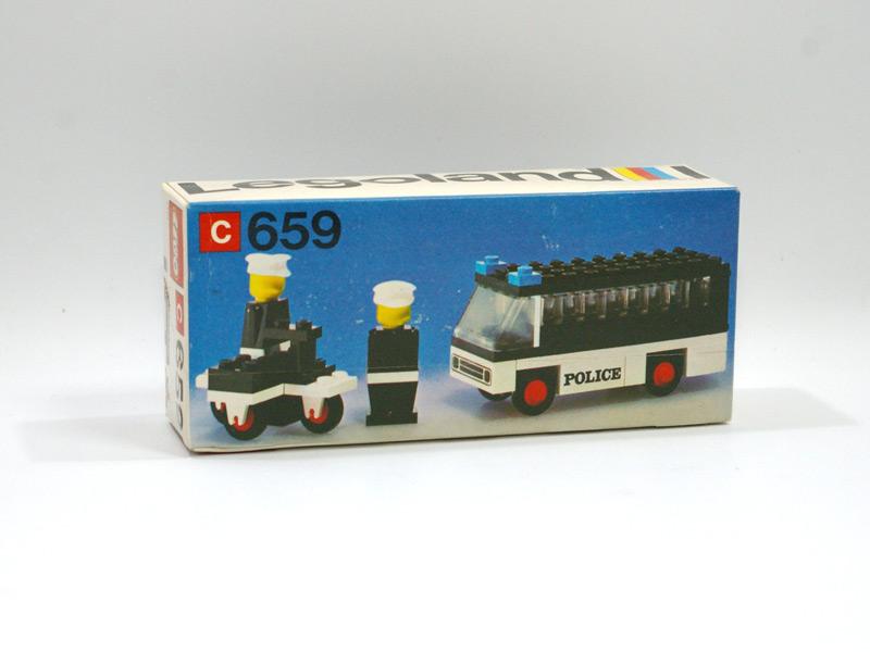 #659 レゴ レゴランド交通パトロール