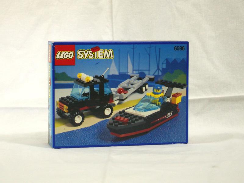#6596 レゴ パワーボートキャリヤー