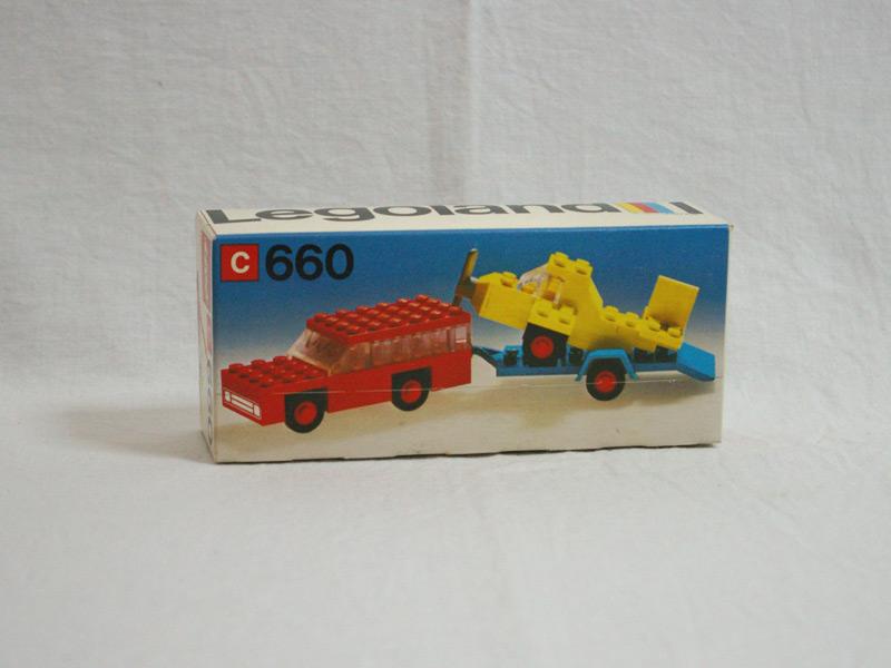 #660 レゴ 飛行機トレーラー
