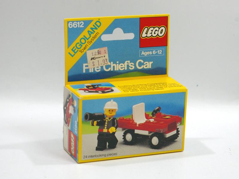 #6612 レゴ 消防隊長車