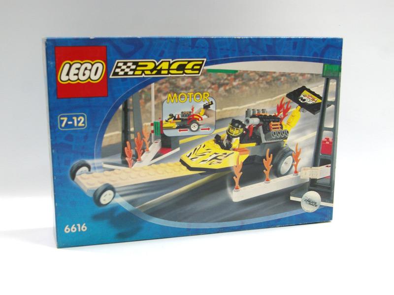 #6616 レゴ プルバック ドラッグスター