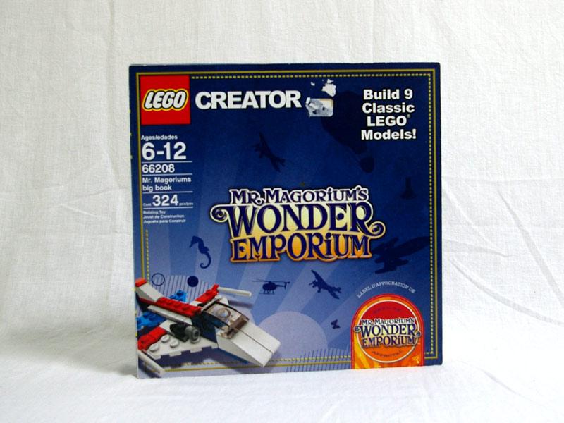 #66208 レゴ ミスターマゴリウモの魔法の絵本