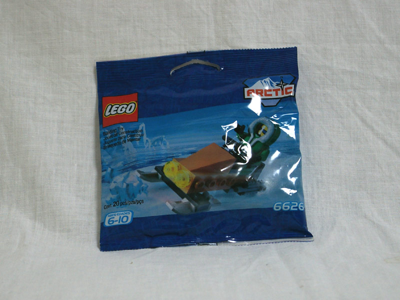 #6626 レゴ スノースクーター