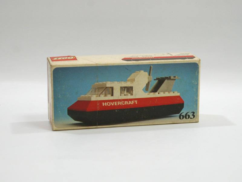 #663 レゴ レゴランドホバークラフト