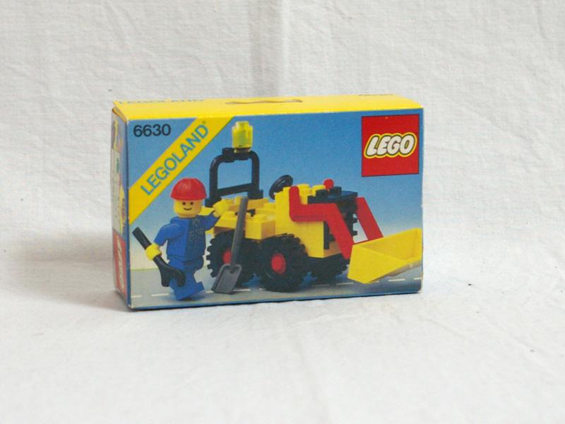 #6630 レゴ シャベルカー
