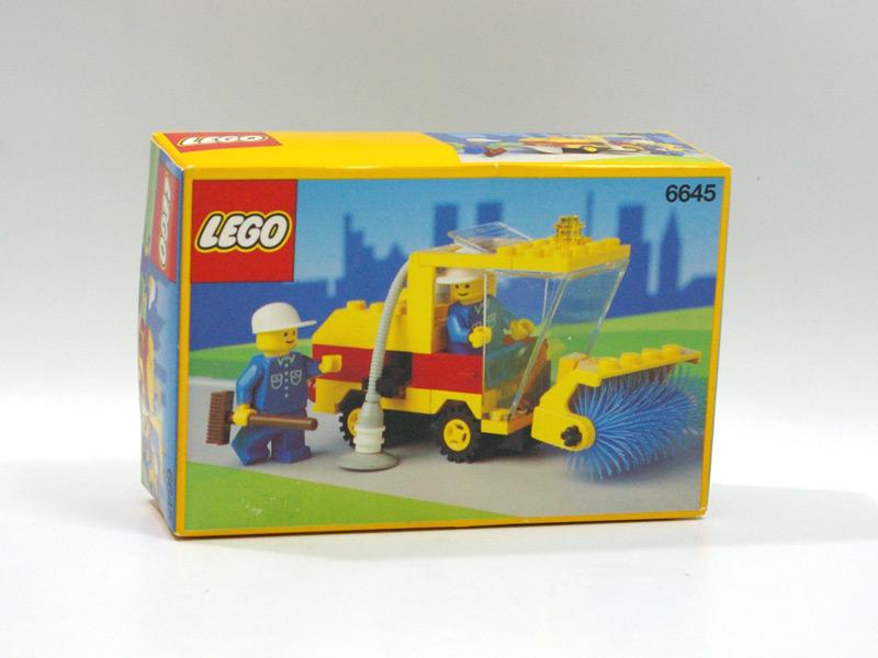 #6645 レゴ ロードスウィーパー