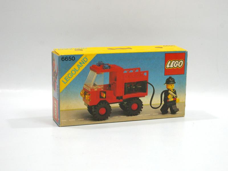 #6650 レゴ 消防トラック