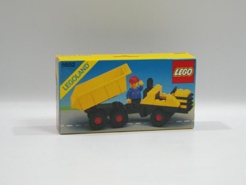 #6652 レゴ 小型ダンプカー