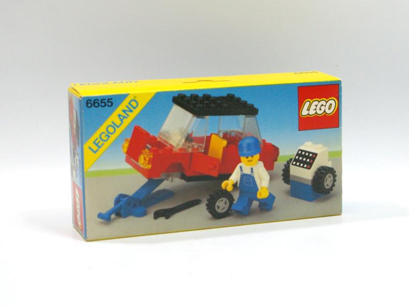 #6655 レゴ 車とジャッキ