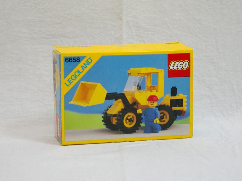 #6658 レゴ ロードトラクター