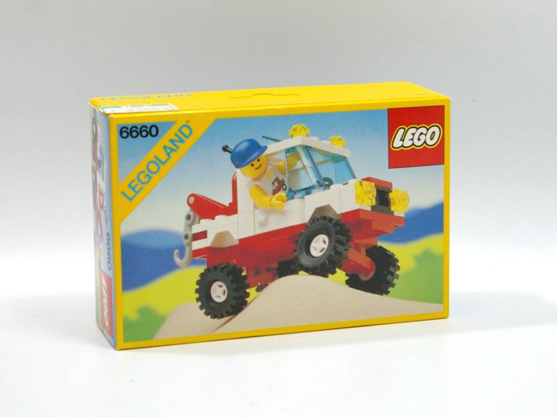 #6660 レゴ オートサービス車(4輪サス付)