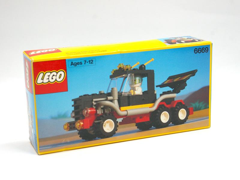 #6669 レゴ コンボイレーサー