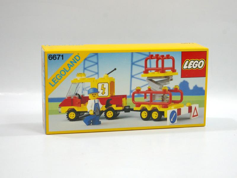 #6671 レゴ サービスワゴン車