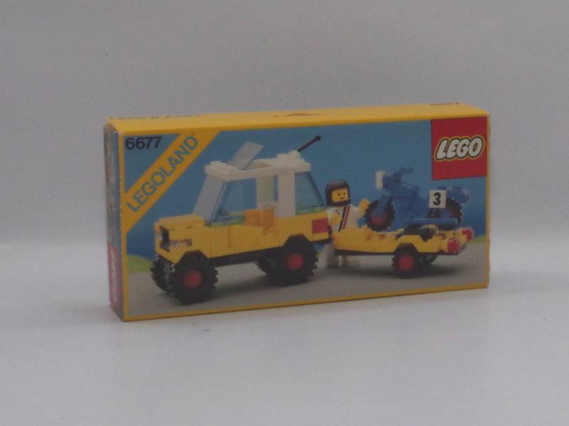#6677 レゴ バイクキャリーカー