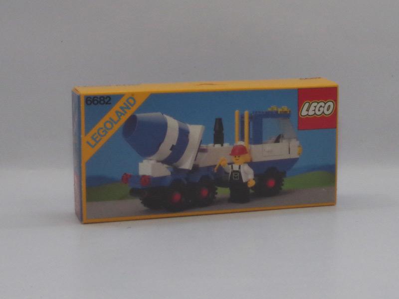 #6682 レゴ ミキサー車